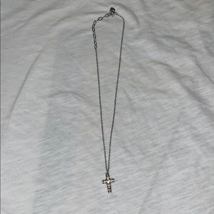 Never worn Cross necklace